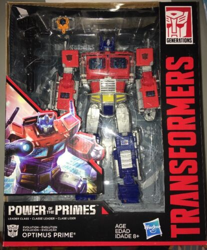Transformers Generations Puissance de l/'Amorce Leader Optimus Prime en main!