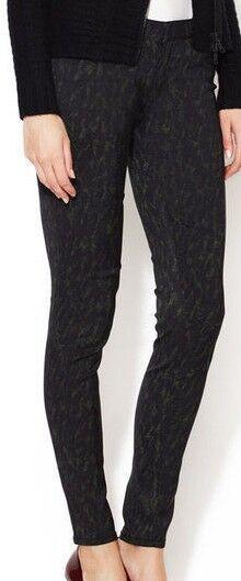 NEW EDUN Ultra Flattering Graphic Print Fashion Pants (Women's Size 29)
