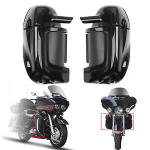 Automobiles & Motorcycles Left Lower Vented Leg Fairing Cap For Hd Harley Touring Moto 83-13 Flht Flhtcu Flhrc Electra Glide Ultra-classic Motorcycle Accessories & Parts