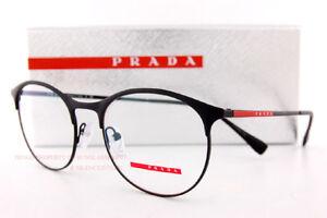 a53ccd83bf00 Brand New Prada Sport Linea Rossa Eyeglass Frames PS 53IV DG0 Black ...