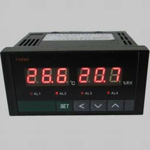 Digital Temperature /&Humidity Controller Two road relay output DIN and UK-tone