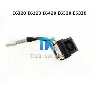 for-Dell-Latitude-E6320-E6220-E6420-E6520-E6330-DC-Power-Jack-Harness-0FTGTP