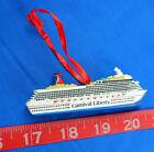 Liberty Carnival Cruise Line Cruise Ship Figural Model New, Ornament, Nice!