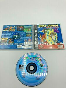 Sony-PlayStation-1-PS1-CIB-Complete-Tested-Bugs-Bunny-Lost-in-Time-Ships-Fast