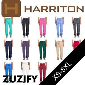 23487929389 Image is loading Harriton-Restore-4-9-oz-Scrub-Bottom-Pants-