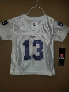 official photos b7ca0 c23cd Details about NFL NY GIANTS GIRLS #13 ODELL BECKHAM JR. JERSEY SIZE 18  MONTHS