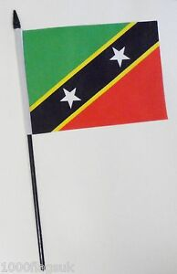 Saint-Kitts-and-Nevis-Small-Hand-Waving-Flag