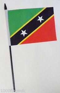 Saint-Kitts-and-Nevis-Small-Hand-Waving-Flag