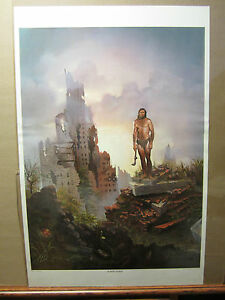 The-NEW-Dawn-ORIGINAL-Vintage-fantasy-Poster-reaper-1173