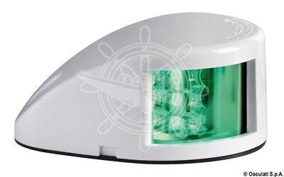Osculati Sphera II Watertight Black ABS Body Green Right LED Navigation Light 2W