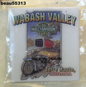 Terre Haute Car Dealerships >> Details About Wabash Valley Terre Haute Indiana Harley Davidson Dealer Dealership Vest Pin