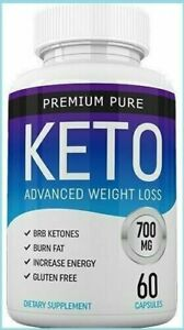 PREMIUM-PURE-KETO-ADVANCED-WEIGHT-LOSS-60-CAPSULES-FREE-amp-FAST-SHIPPING