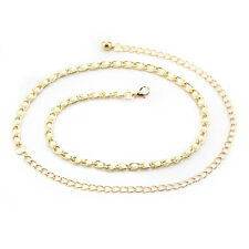 Gold Pearl Ladies Waist Chain/Charm Belt - One Size Fits All - 654