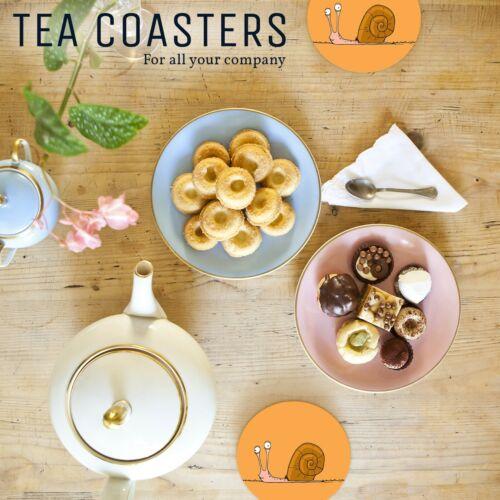 1 x Superbe Drôle Escargot-Round Coaster Cuisine étudiant enfants cadeau #15638