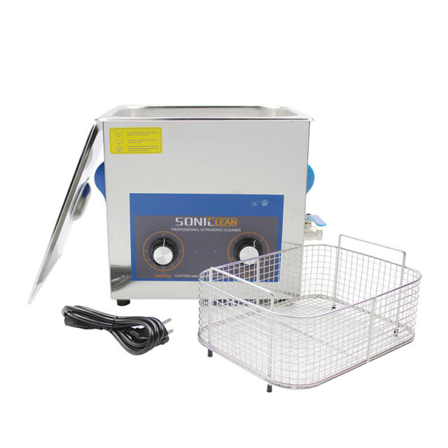Professional Ultrasonic Cleaner 10L with heating&drain! Free SS basket and cover