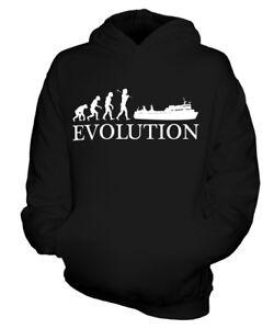 FÄHRE EVOLUTION DES MENSCHEN KINDER KAPUZENPULLOVER HOODIE JUNGEN MÄDCHEN