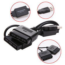 Game Controller Female to USB Converter Adapter For PS2 PlayStation 2 Dual Port