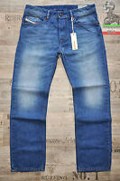 DIESEL WAYKEE 663D 0663D 30 31 32 L32 L30 STRAIGHT NEW MENS JEANS BLUE FADED BNT