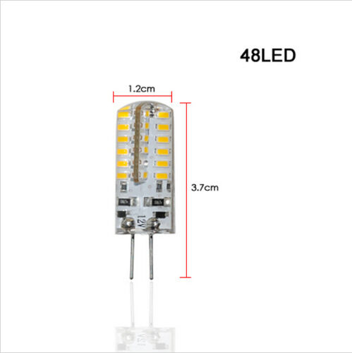 10X 1,5W-6W G4 3014SMD LED Kristall lampe Glühbirne Kronleuchter AC//DC12V Mit CE