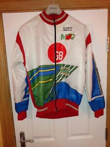 Bianchi-MG-GB-retro-Cycling-Windproof-Jacket-In-vgc