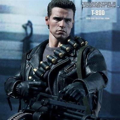 TERMINATOR T-800 T 800 JUDGEMENT DAY DX10 DX-10 HOTTOYS HOT TOYS FIGUR SA AQ3326