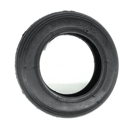 15.2cm Innere Schlauch Reifen Elektroroller Gummi Schwarz 1//4 Verdickt 6x1