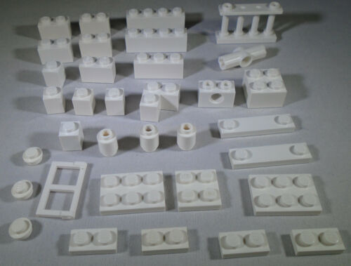 LEGO White Brick Plate from 3315 Olivia/'s House 3005 3004 3622 3010 3003 2357