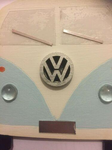 VW CAMPER VAN Novelty sign-Choose your number plate-Pink or Blue Camper Van