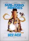 "Ice Age Sub-Zero Heroes (2002) original advance one sheet movie poster (27""x40"")"