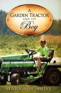 Un-trattore-da-giardino-e-il-suo-ragazzo-rilegato-o-con-Custodia-Book