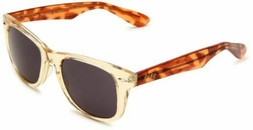 Lucky Beach Bum BEACYEL51 Square Sunglasses,Yellow Crystal Frame/Brown Lens,One