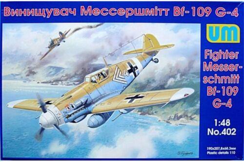 UNIMODELS 402 1//48 Messerschmitt Bf 109G-4