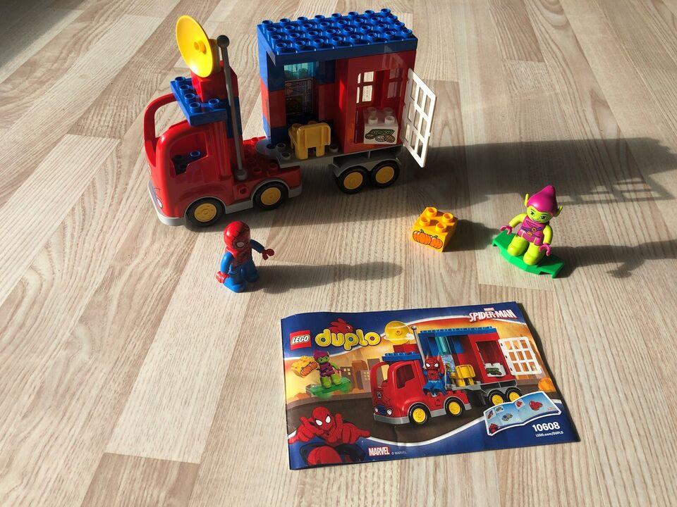Lego Duplo, Spiderman & Jokeren