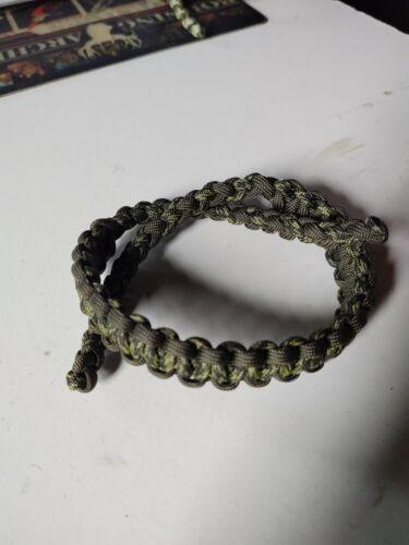 Tir à L/'Arc Deep Forest et Olive BLING Sling Bow Bracelet Free Ship Mathews Hoyt