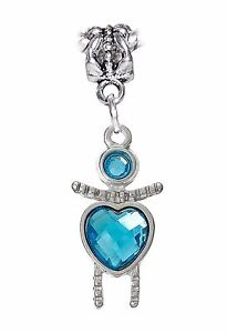 March-Birthstone-Little-Girl-Baby-Blue-Heart-Dangle-Charm-for-European-Bracelets