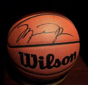 newest collection 51cce cbfbe Details about Michael Jordan autographed Hand Signed Basketball Upper Deck  COA