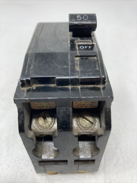 Square D QO250 50 A Miniature Circuit Breaker for sale online