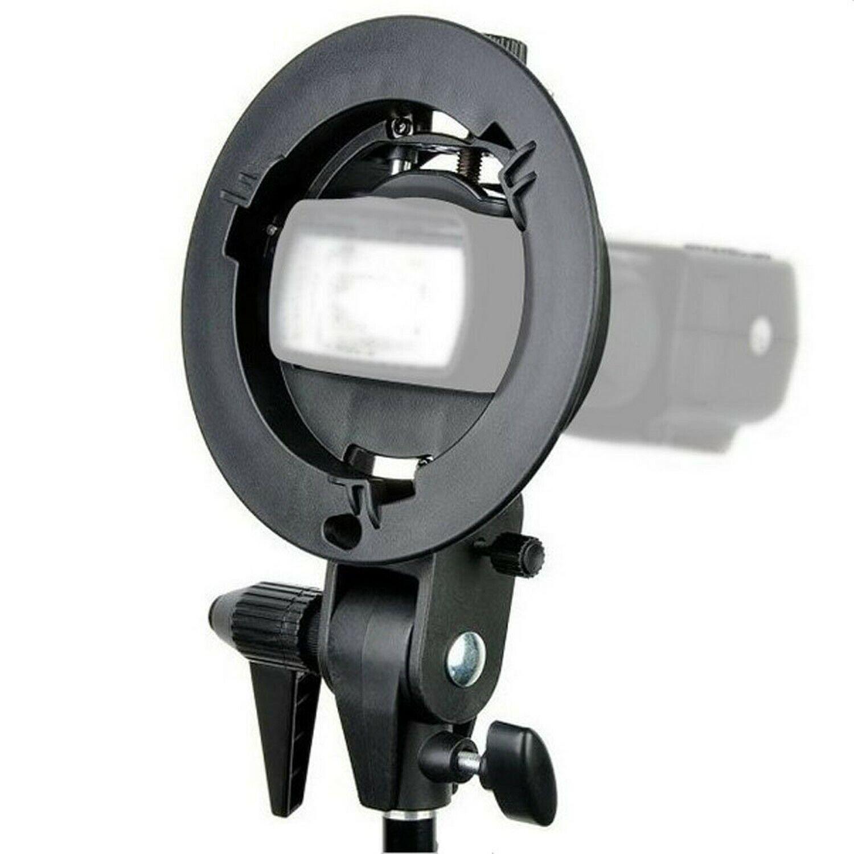 Chamäleon Speedlight S-Type Adapter Bowens-S Systemblitzadapter mit Handgriff