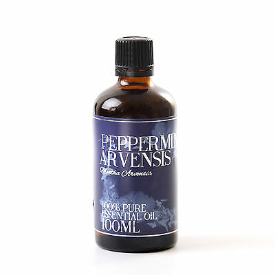 Mystic Moments   Peppermint Arvensis Essential Oil - 100ml (EO100PEPPARVE)