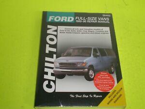 1989-1996 Ford Full-Size Vans E-150 E-250 E-350 Chilton Repair Manual #26402 NEW