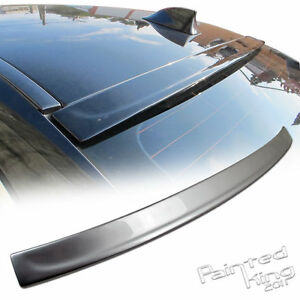 Painted  3D Type Rear Roof Spoiler For BMW 5-Series F10 Sedan your color