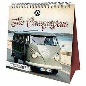 VM-Camper-Vans-Desk-Easel-2020-Calendar-Page-a-Month-Tent-Volkswagen
