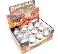 4 Hatching Pet Dinosaur Eggs Growing Hatch Large 3 Jurassic World Free Shipping
