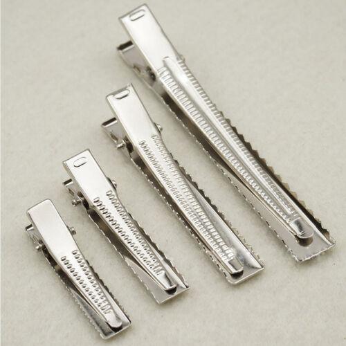 20pcs Fashion Prong Aligator Clips Hair Bows Metal Hair Clip Accessories