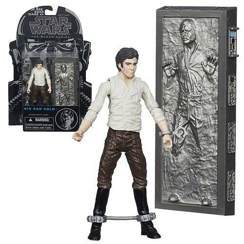 Star Wars The schwarz Series Han Solo in Carbonite 3 3 4-Inch Action Figure