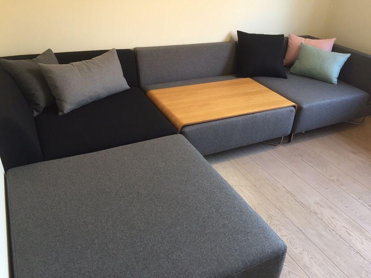 sofa uld 5 pers k b og salg af nyt og brugt. Black Bedroom Furniture Sets. Home Design Ideas
