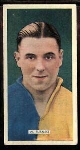 Tobacco-Card-Carreras-POPULAR-FOOTBALLERS-1936-W-Furness-Leeds-United-30