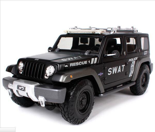 Police Maisto Special Weapons And 1 Jeep Rescue 18 Concept Tactics m0N8wn