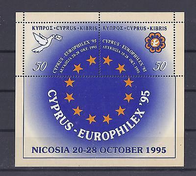 Zypern 1995 ** Block 17 Europhilex Postfrisch Siehe Scan Senility VerzöGern Europa