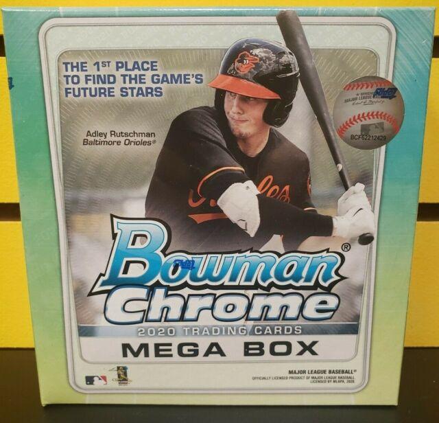 2020 Bowman Baseball Mega Box Factory Sealed